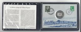 ORIENT- EXPRESS Paris - Istanbul  ( Sirkeci )  19-22 Mai 1977  ( Médaille - Enveloppe Commémorative ) - Chemin De Fer