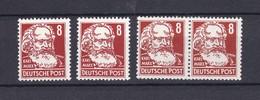 DDR - 1952/53 - Michel Nr. 329 - Postfrisch - 10 Euro - Ungebraucht