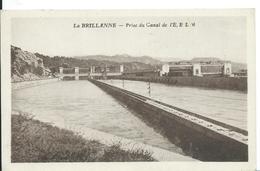 LA BRILLANNE   ( ALPES DE HAUTE PROVENCE  )   PRISE DU CANAL DE L'E.E.L.M - Frankrijk