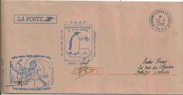 Gérant Postal De Dumont D'Urville - Terre Adélie - 23/03/2008 - Sur Enveloppe De Service - French Southern And Antarctic Territories (TAAF)
