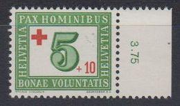 Switzerland 1945 Red Cross 1v (+margin) ** Mnh (43194A) - Zwitserland