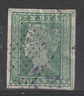 INDE - N°4 Obl (1854) Victoria - India (...-1947)