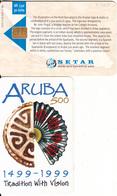 ARUBA - Aruba 500 Years 1499-1999, Tradition With Vision, Tirage %80000, 01/99, Used - Aruba