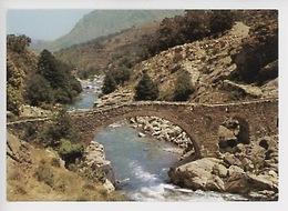 Corse : Pont Au Pied Du Barrage De Calacuccia (cp Vierge N°284/20 Pierron) - Andere Gemeenten