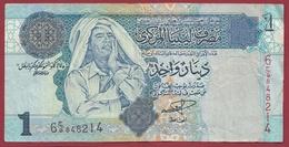 Libye 1 Dinar 2009 Dans L 'état - Libya
