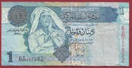Libye 1 Dinar 2004 Dans L 'état - Libya