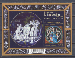 Año 2015 Leonard Limosin - Blocs & Feuillets