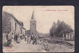 Dieppe ( Sous Douaumont 55) Rue Du Chateau ( Collection George Animée En L'état) - Autres Communes