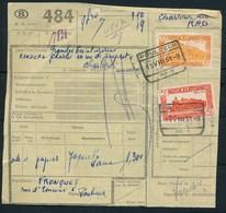 """Vrachtbrief Met Stempel  """"POULSEUR"""" - (ref. Nr 494) - Railway"""