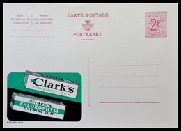 ENTIER CP PUBLIBEL 2010. CHEWING GUM CLARK'S . .   NEUF - Publibels