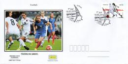 France  2019 FDC : Football. Sport Couleur Passion. Obliteration 1er Jour 18/05/2019 Paris. - 2010-....
