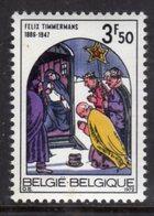 BELGIUM - 1972 CHRISTMAS STAMP FINE MNH ** SG 2291 - Belgium