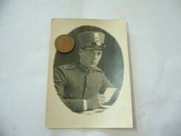 WW2 FOTO SOLDATO UFFICIALE 81°REGGIMENTO FANTERIA TORINO 1931 CM.9X6,5. - Guerra, Militari