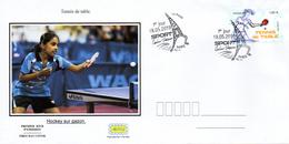 France  2019 FDC : Tennis De Table. Sport Couleur Passion. Obliteration 1er Jour 18/05/2019 Paris. - 2010-2019