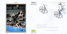 France  2019 FDC : Volley. Sport Couleur Passion. Obliteration 1er Jour 18/05/2019 Paris. - 2010-....