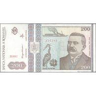 TWN - ROMANIA 100a - 200 Lei DEC 1992 Prefix B.0002 AU/UNC - Romania
