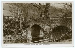 MALMSMEAD BRIDGE AND LORNA DOONE FARM - Lynmouth & Lynton