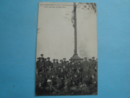 76 - Le Tréport - Le Calvaire - Groupe De Militaires - 1913 - Le Treport