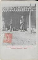 BISCAROSSE Les BAINS : Poste De Douane -Douaniers Partant Pour Le Rabat (1906) Trés Rare - Biscarrosse