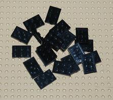 Lego 20x Plate Noir 2x3 Ref 3021 - Lego Technic