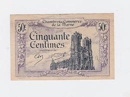 50 Cts. Chambre De Commerce De La Marne 10 Octobre 1922 - Chambre De Commerce