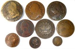FRANCE - Lot 9 Monnaies (76,33 G). - France