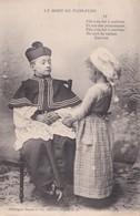 """Cartes 1905 Série """" La Mort De Flon-flon"""" : Chien , Cuisine , Fouet ,patisserie,curé - Autres"""