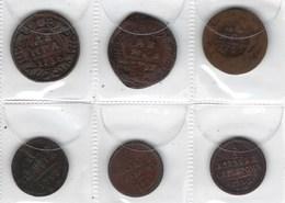 Monnaie De Russie, Lot De 6 Pièces De Russie Ancienne ( à Voir ) - Russie