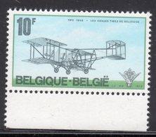 BELGIUM - 1973 BI PLANE ANNIVERSARY STAMP FINE MNH ** SG 2312 - Belgium
