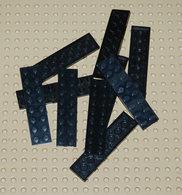 Lego 10x Plate Noir 2x8 Ref 3034 - Lego Technic