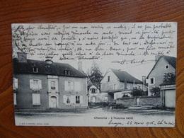 """Belle CPA Précurseur, Animée:    """"CHAOURCE - L'Hospice 1496""""   MIOT   Circulée En 1906   Très Bon état - Chaource"""