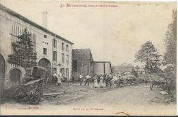 LA BURGONCE Près St Dié ( Attelage En Petit Plan) - France