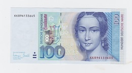 Billet De 100 Mark  Du 2-1-1996 Neuf - [ 7] 1949-… : FRG - Fed. Rep. Of Germany