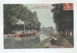 82 - CASTELSARRASIN - Les Bords Du Canal (Peniche) - - Castelsarrasin