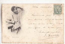 Algérie - Yaoulet Cireur - Carte De 1902    :  Achat Immédiat - Scènes & Types
