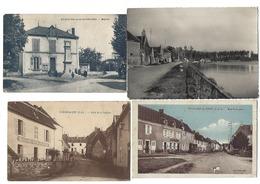 FRANCE - Lot De 18 CPA Et CPSM - VILLAGES UNIQUEMENT - Postcards