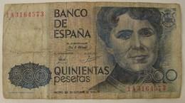 Billet; 14. 500 Pesetas. 1979 - [ 4] 1975-… : Juan Carlos I