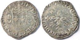 FRANCE - Henri II - Douzain Aux Croissants - 1550-O (Montélimar). - 1547-1559 Henri II