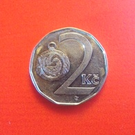 2 Kronen Münze Aus Tschechien Von 1993 (vorzüglich) II - Tsjechië