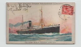 THE PACIFIC STEAM NAVIGATION COMPANY RMS ORISSA - Steamers