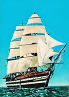 NAVE. AMERIGO VESPUCCI. NAVE SCUOLA.  LA SPEZIA. VELIERO. 785 - Sailing Vessels