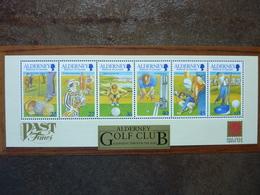 2001  Alderney Golf Club   ** MNH - Alderney