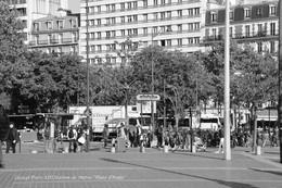 Paris XIII (75)- Place D'Italie Et Station (Edition à Tirage Limité) - Métro