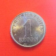 1 Kronen Münze Aus Estland Von 1993 (sehr Schön) - Estonia