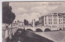 TREVISO IL SILE A PONTE DANTE  AUTENTICA 100% - Treviso
