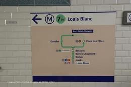 Paris (75)-Schéma De Ligne De Métro 7 Bis (Edition à Tirage Limité) - Métro
