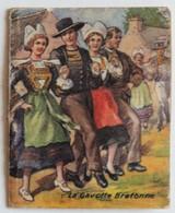 Calendrier 1952 La Gavotte Bretonne Danse Coiffe Bretonne Papeterie P. Bonnet 15 Rue De La Banque Paris - Calendarios