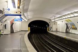 Paris XVII (75)-Station Ternes (Edition à Tirage Limité) - Métro