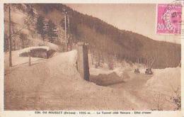 Drôme        219        Col Du Rousset.Le Tunnel Côté Vercors.Effet D'hiver - Andere Gemeenten