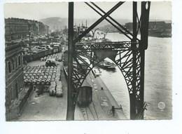 Rouen Port Vu Du Pont Transbordeur - Rouen